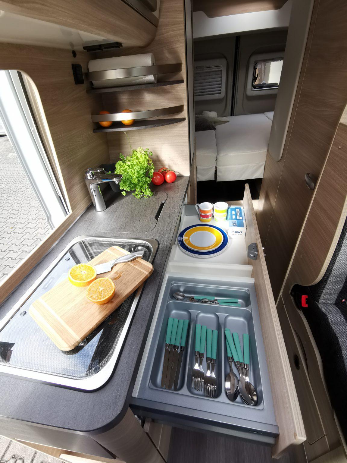 Wohnmobil Küche