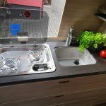 Praktische Küchenzeile